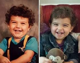 20 Фото батьків і дітей, схожих як дві краплі води фото