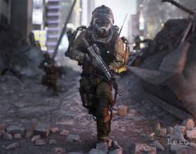 Автори advanced warfare: «таку call of duty ви ще не бачили!» фото
