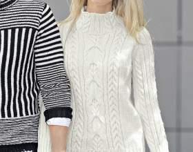 """Білий светр з «косами» С""""РѕС'Рѕ"""