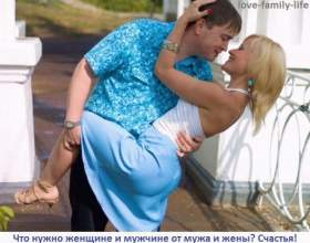 Чого хочуть жінки від чоловіка, що хочуть чоловіки від дружини фото