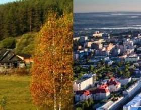 Чим відрізняється село від міста - основні відмінності фото