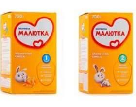 Чим відрізняється дитяча молочна суміш малютка 1 від малятка 2 фото