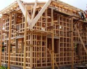 Чим відрізняється каркасний будинок від щитового? фото