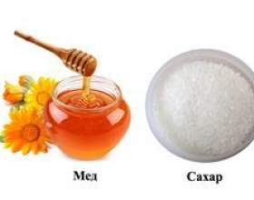 Чим відрізняється мед від цукру - властивості і відмінності фото