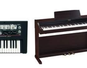 Чим відрізняється синтезатор від цифрового піаніно фото