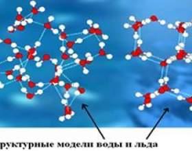 Чим відрізняються молекули води і молекули льоду? фото