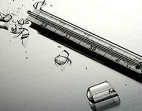 Що робити, якщо розбився градусник з ртуттю? фото