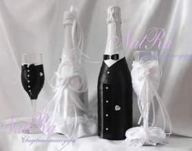 Декор шампанського фото