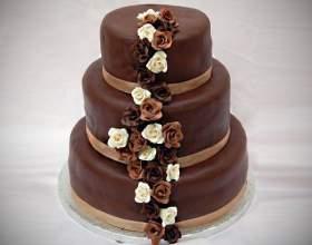 Робимо шоколадний триярусний торт фото