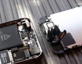 Інструкція по заміні екрану iphone 5s фото