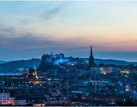 Едінбург - столиця шотландії фото