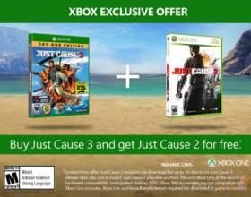 Just cause 3 - за покупку гри на xbox one подарують just cause 2 фото