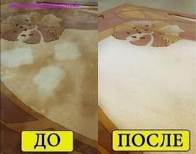 Як легко очистити килим фото