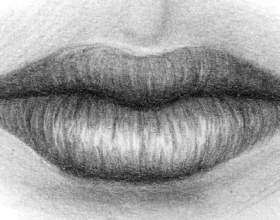 Як навчитися малювати губи? фото