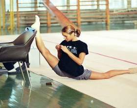 Як навчитися сідати на шпагат? фото