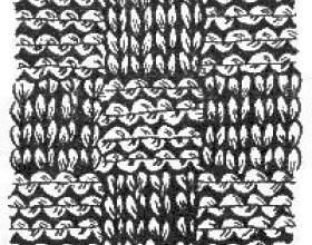 Як новачкові зв`язати спицями шарф? фото