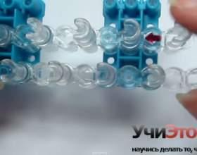 Як плести браслет шодді з гумок? фото