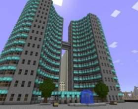 Як побудувати місто в minecraft фото