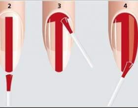 Як правильно фарбувати нігті фото