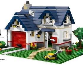 Як зробити будинок з лего? фото