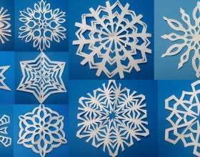 Як зробити сніжинку з паперу? фото
