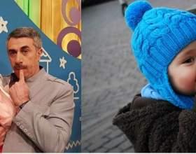 Коли надягати дитині шапку? Комаровський фото
