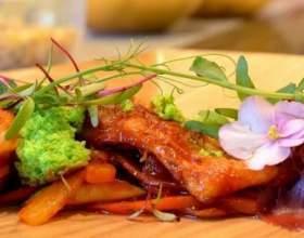 Кулінарні страви з квітів фото