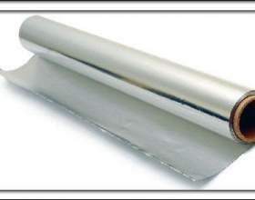 Лікування алюмінієвою фольгою фото