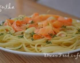 Макарони з морквою фото