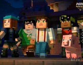 Minecraft: story mode - геймплей з twitchсon фото