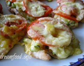 М`ясо з овочами фото