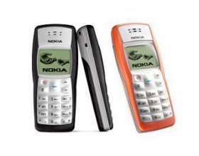 Мобільні телефони nokia серії 1xxx фото