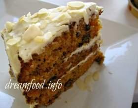 Морквяний торт фото