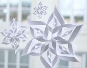 Незвичайні сніжинки своїми руками фото