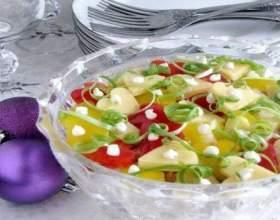 Новорічний салат «конфетті» фото