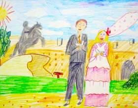 Про весілля устами дитини фото
