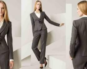 Офісний одяг для жінок. Поєднання кольорів, ділові костюми (фото) фото