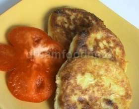 Оладки з картоплі з сиром фото