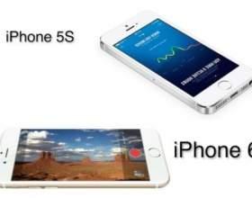 """Основні відмінності нового iphone 6 від минулої моделі С""""РѕС'Рѕ"""