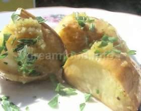Печена картопля фото