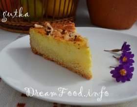 Пиріг з сиром і фундуком фото