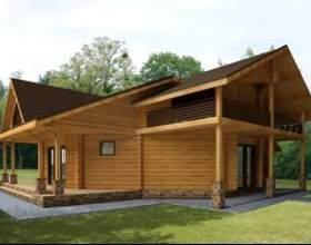Поетапне будівництво дерев`яних будинків фото