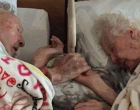 Після 77 років шлюбу, любляча пара заснула назавжди, тримаючись за руки фото