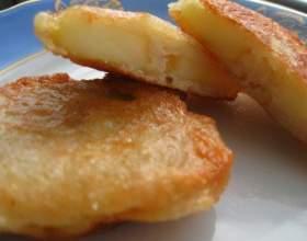 Пісні оладки з яблуками (пісний рецепт) фото