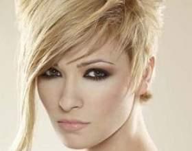 Зачіски на коротке волосся фото