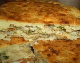 Приготування пирога зі свіжою капустою фото