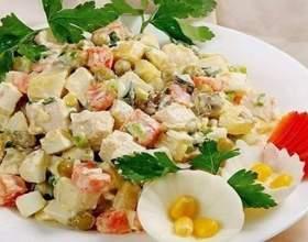 Простий і смачний салат для свята фото