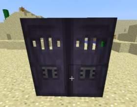 Різні двері в minecraft фото