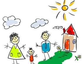 Дитина малює сім`ю: як аналізувати малюнок фото