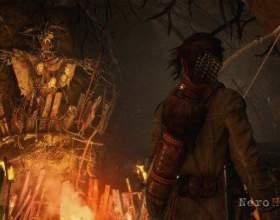 Rise of the tomb raider - дебютний трейлер доповнення baba yaga: the temple of the witch фото